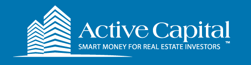 Logo design for Active Capital, an investment and mortgage company in California dealing with commercial properties.