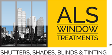 Logo design for ALS Window Treatments of Clearwater, Florida.