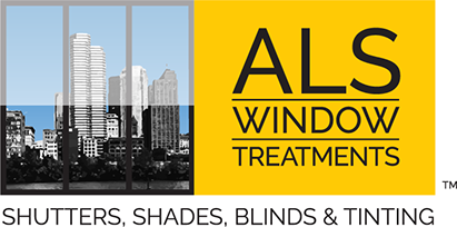 Logo design/branding designed for ALS Window Treatments of Florida.