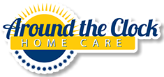 Logo design, branding for Around the Clock Home Care.