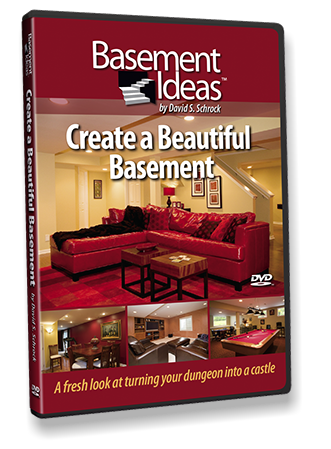 Packaging design for Basement Ideas, Inc. DVD box design.