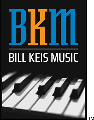Bill Keis Music logo designed by Design Strategies, Inc.
