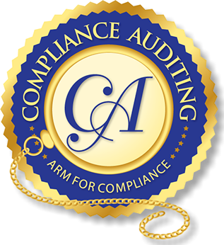 Compliance Auditing LLC logo/branding design.