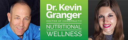 Logo designed for Dr. Keving Granger Nutritional Wellness of Clearwater, FL.