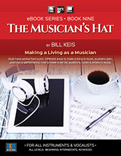 Book cover designs created for Bill Keis Music eBook series.
