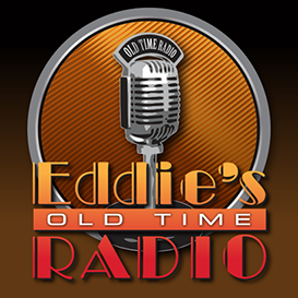 Logo designed for Eddie's Old Time Radio by Design Strategies, Inc.