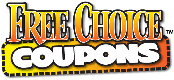 Logo design for Free Choice Coupons in British Columbia, Canada.