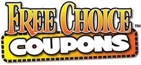 Logo designed for Free Choice Coupons in British Columbia, Canada.