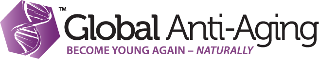 Logo created for Global Anti-Aging products, corporate offices across Europe.