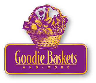 Logo created for Goodie Baskets and More in California.