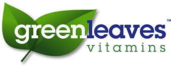Logo design and corporate image design for Greenleaves Vitamins in the Netherlands.