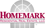 Logo designed for Homemark Residential Real Estate, LLC. of Florida.