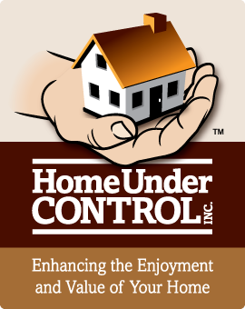 Logo designed for Home Under Control, home management and repair services in Clearwater, Florida.