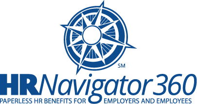 New logo designed for HRnavigator360, a software product from Accurate Insurance Solutions, Inc.