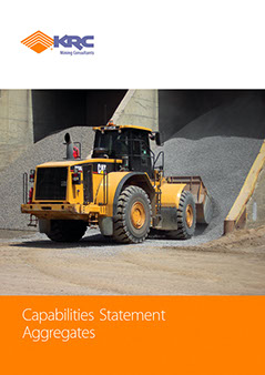 Brochures designed by Design Strategies for KRC Mining Consultants in Sydney, Australia.
