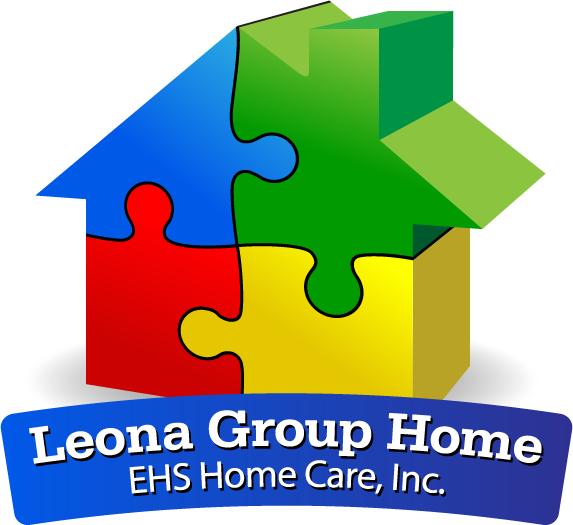 Leona Group Home logo designed by Design Strategies, Inc.