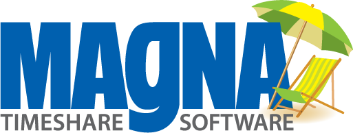 Product logo design for Magna Timeshare Software in Florida.