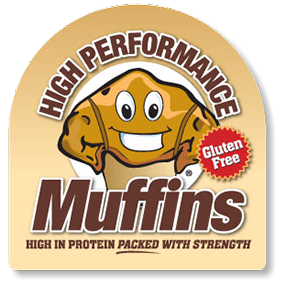 Logo design for High Performance Muffins of Florida.