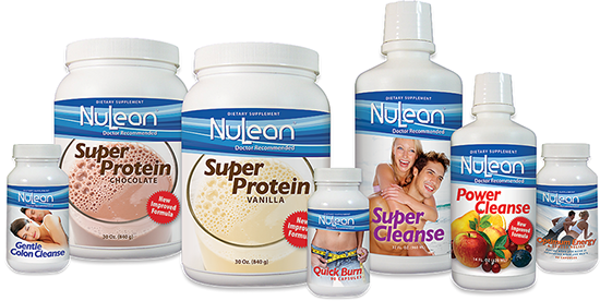Product packaging design for NuLean Weight Loss Products: Complete re-imaging of new product labels.