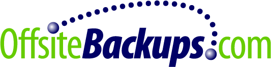 Logo designed for OffsiteBackups.com in California.