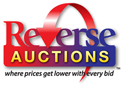 Logo design for Reverse Auctions in Florida.