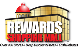 Logo design for Rewards Shopping Mall run by Tari Steward.