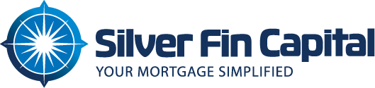 Logo design, rebranding for Silver Fin Capital mortgage company in New York.