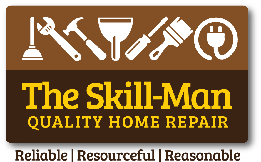 Logo design for The Skill-Man Quality Home Repair of Dunedin, Florida
