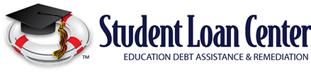 Student Loan Center logo design.