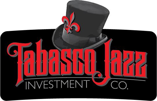 Logo design for Tabasco Jazz Investment Co. of Clearwater, Florida by Design Strategies, Inc.