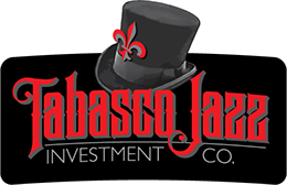 Logo designed for Tabasco Jazz Investment Co. of Clearwater, Florida.