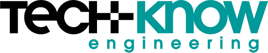 Logo design for Tech-Know Engineering in California.